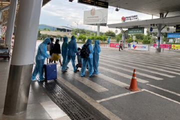 Sân bay Tân Sơn Nhất đã có test nhanh Covid-19 cho hành khách