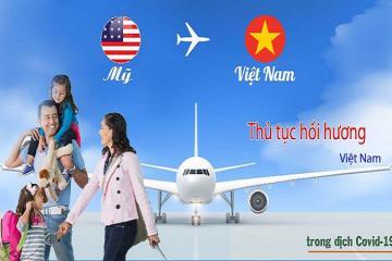 Cập nhật đầy đủ nhất về các chuyến bay hồi hương từ Mỹ về Việt Nam tháng 8, 9/2021