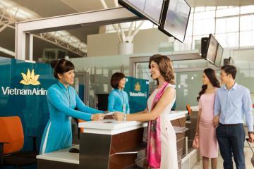 Cách làm thủ tục lên máy bay Vietnam Airlines cho những khách nội địa