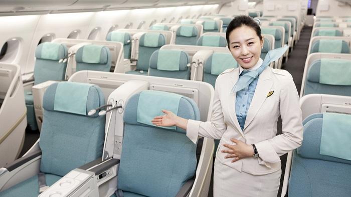 Review các hãng hàng không đi Hàn Quốc: Korean Air