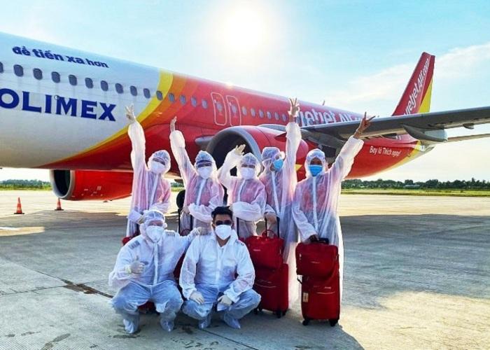 Điều kiện để bay nội địa hãng Vietjet Air