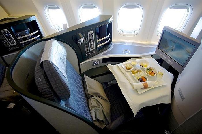 Bữa ăn hãng hàng không Eva Air