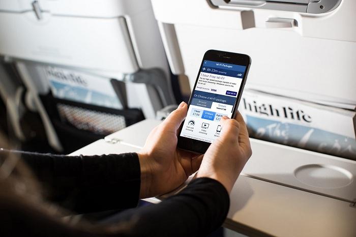Cước phí sử dụng wifi trên chuyến bay