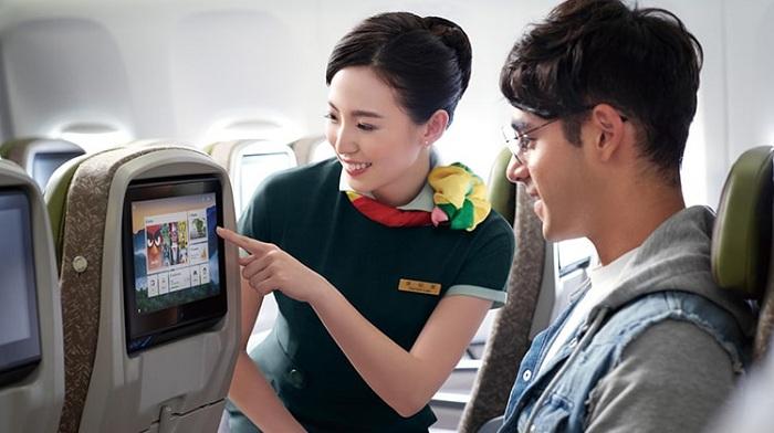 Dịch vụ giải trí hãng hàng không Eva Air