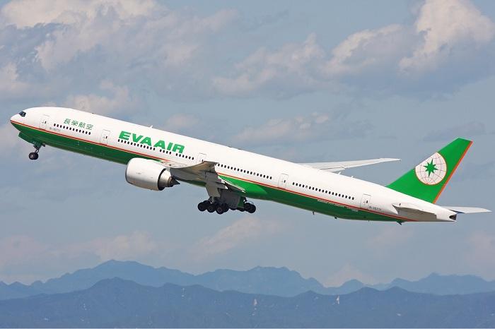 Máy bay của hãng hàng không Eva Air