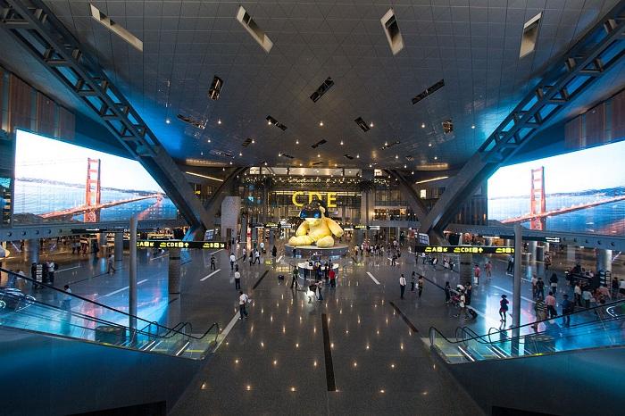Top 10 sân bay tốt nhất thế giới năm 2021: sân bay Hamad
