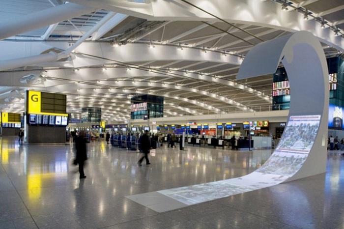 Top 10 sân bay tốt nhất thế giới năm 2021: sân bay Heathrow