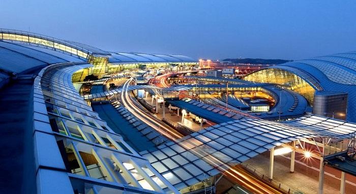 Review các hãng hàng không đi Hàn Quốc 'chuẩn' nhất: sân bay Incheon