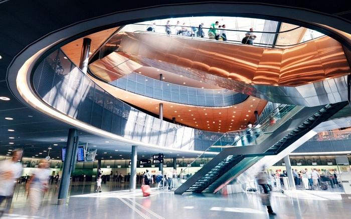 Top 10 sân bay tốt nhất thế giới năm 2021: sân bay Zurich