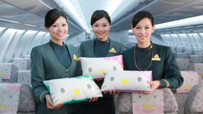 Tiếp viên hãng hàng không Eva Air