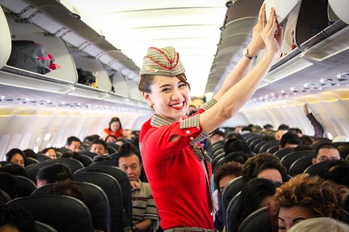 Review các hãng hàng không đi Hàn Quốc: Vietjet Air