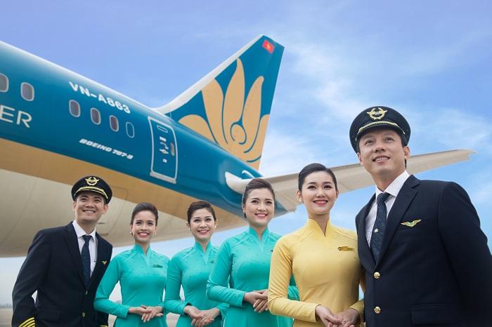 Review các hãng hàng không đi Hàn Quốc: Vietnam Airlines