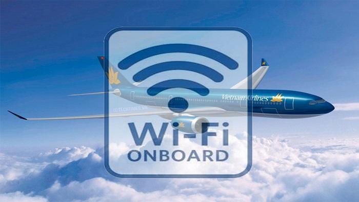 Sử dụng wifi trên chuyến bay của Vietnam Airlines